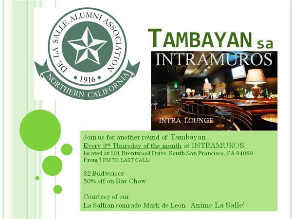 Tambayan sa Intramuros!